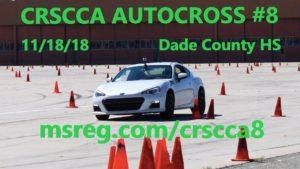 CRSCCA Autocross 8