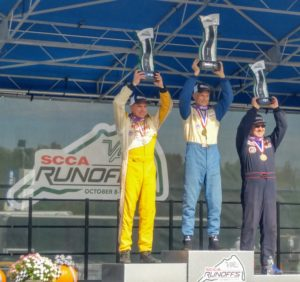 2019 SCCA HP Runoffs Podium