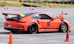 Porsche GT3 RS at March 2019 CRSCCA Autocross - Credit: Lea Carter